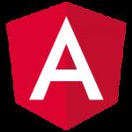 "Das Logo des Frameworks Angular: Ein ""A"" auf roten Grund © Google [CC BY 4.0 (https://creativecommons.org/licenses/by/4.0)], via Wikimedia Commons"